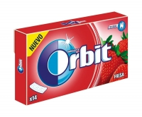 Chicle Orbit Fresa tabs