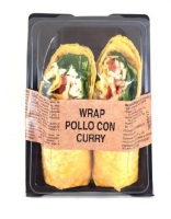 WRAP POLLO ASADO CON SOJA Y CURRY ÑAMING 185G
