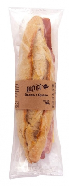 RUSTICO BACON Y QUESO
