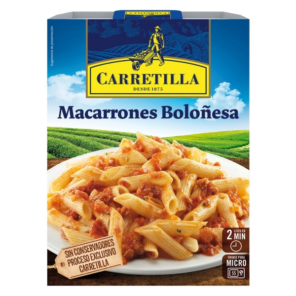 MACARRONES BOLOÑESA 325G