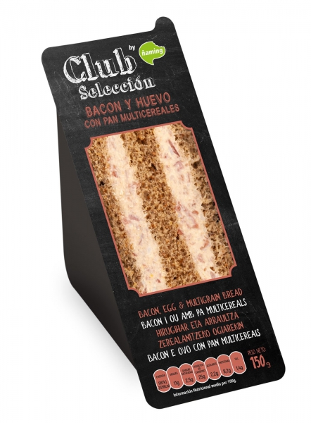 ÑAMING CLUB BACON HUEVO 150G