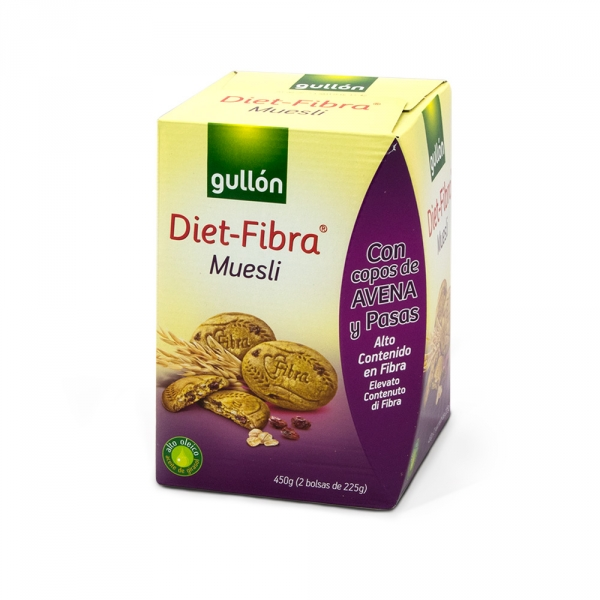GALLETA DIET FIBRA MUESLI 75G